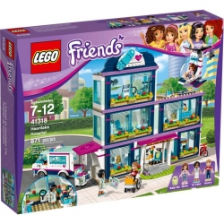 LEGO FRIENDS 41318 Szpital w Heartlake-10002