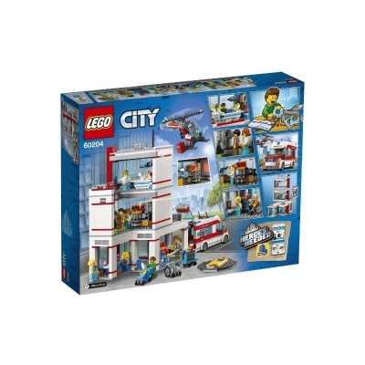 LEGO CITY 60204 Szpital-11919
