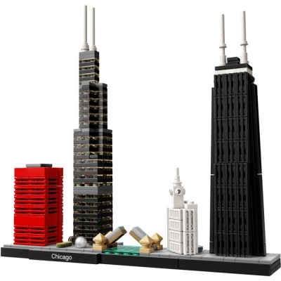 LEGO ARCHITECTURE 21033 Chicago-7086