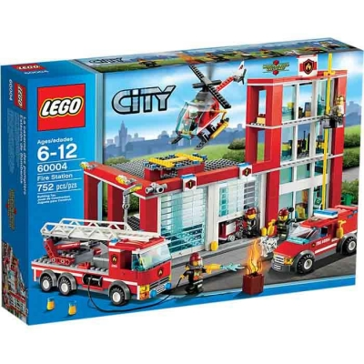 LEGO CITY 60004 REMIZA STRAŻACKA-7876