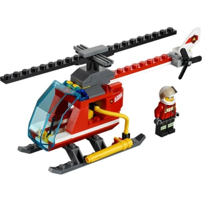 LEGO CITY 60004 REMIZA STRAŻACKA-7879