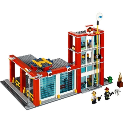 LEGO CITY 60004 REMIZA STRAŻACKA-7881