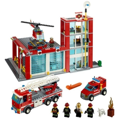 LEGO CITY 60004 REMIZA STRAŻACKA-7883
