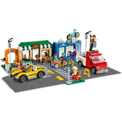 LEGO CITY 60306 Ulica handlowa
